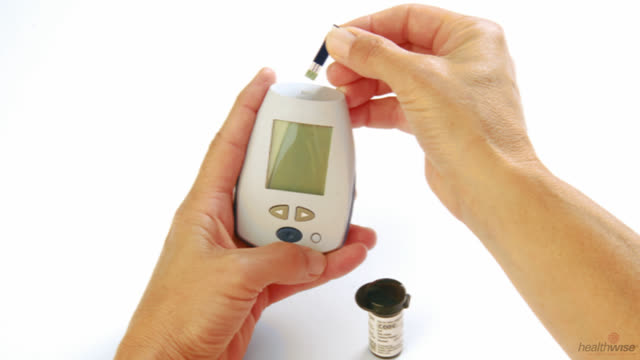Diabetes: Testing Your Blood Sugar