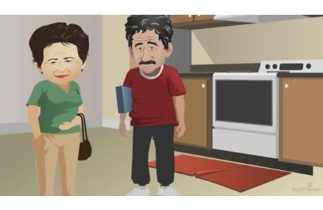 Cómo prevenir las caídas en los adultos mayores (subtitulado)