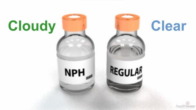 Insulina: Cómo preparar una dosis mixta