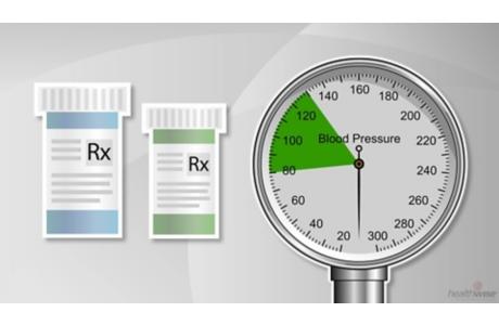 Medicamentos para la presión arterial alta (subtitulado)