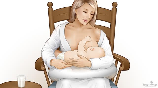 Lactancia: Cómo hacer que su bebé se prenda