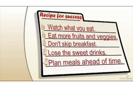 Cinco ingredientes para una alimentación saludable (subtitulado)