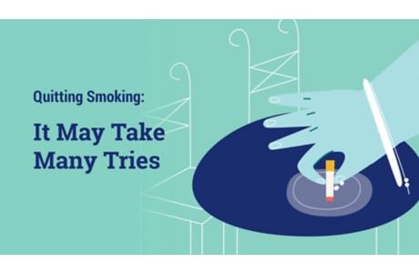 Dejar de fumar: Podría tener que intentarlo muchas veces (subtitulado)