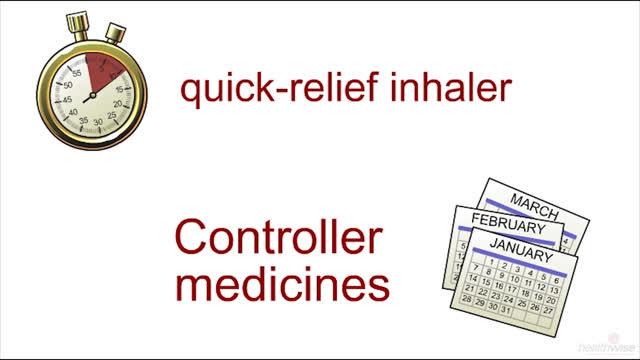 Asma: La importancia de los medicamentos de control