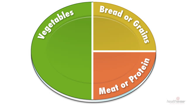 Diabetes: Cómo preparar su plato de comida