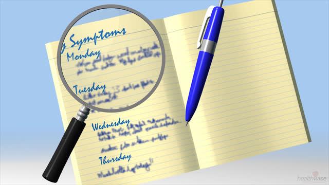 Insuficiencia cardíaca: Lleve un registro de sus síntomas