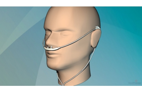Uso de oxígeno: Consejos para el cuidado de la cánula y la piel (subtitulado)
