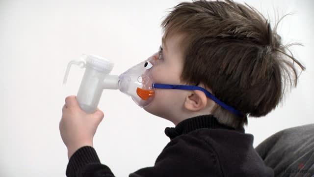 Cómo usar un nebulizador con una mascarilla