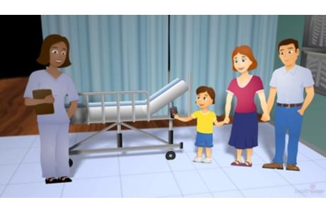 Aprenda a preparar a su hijo para una estancia en el hospital (subtitulado)