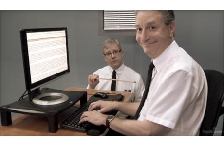 Ergonomía: Cómo usar su computadora (subtitulado)