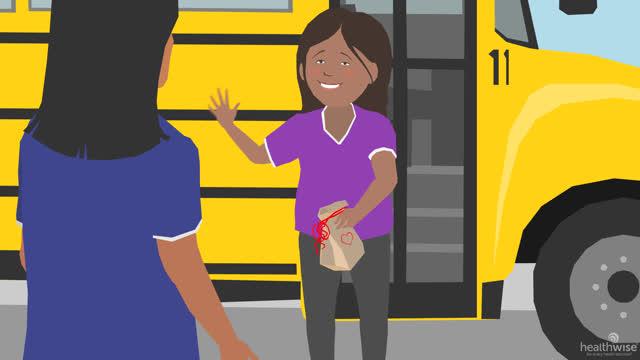 Diabetes en niños: Alimentación saludable en la escuela