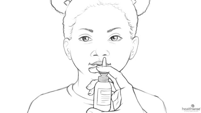 Here's Help: How to Use Nasal Spray or Drops for Your Child