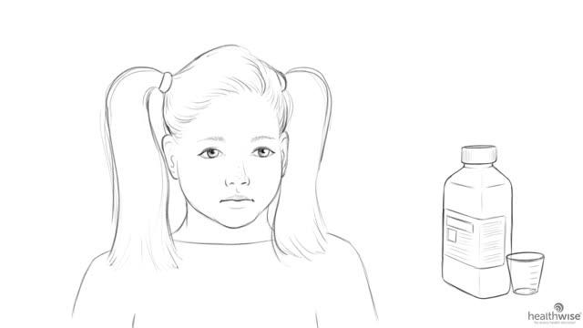 Aquí tiene ayuda: Cómo darle un medicamento oral a su hijo