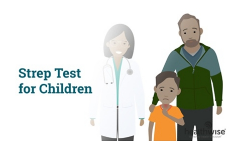Strep Test for Children