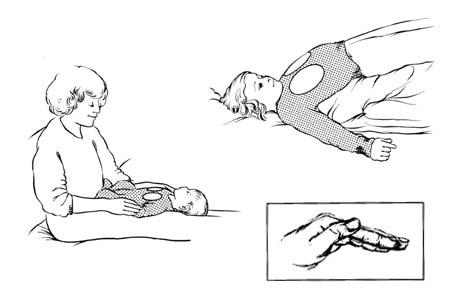 Drenaje postural para los lóbulos inferiores (segmento anterior)