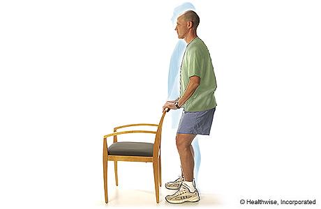 Flexiones ligeras de rodilla