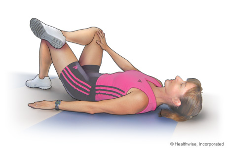 Hip rotator stretch