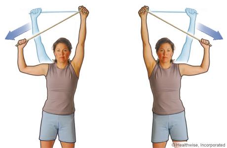 Ejercicio de estiramiento lateral