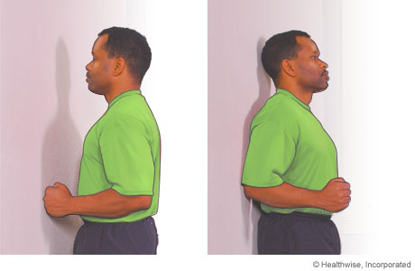 Shoulder flexor and extensor exercises