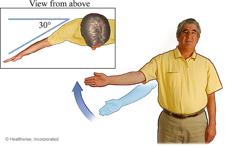 Arm raise to the side