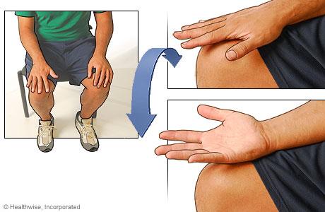 Hand flips exercise