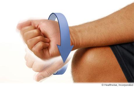 Wrist circles exercise