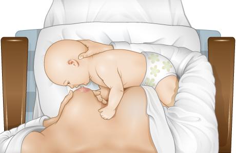 Cómo hacer que el bebé se prenda