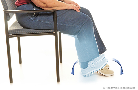 Heel-and-toe exercise