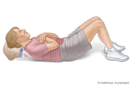 Cómo hacer el ejercicio de abdominales