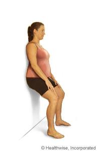 Ejercicio de presión de espalda